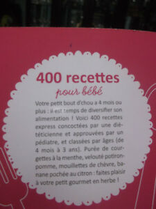 BABY  FOOD RECIPE BOOK FOR SALE Gatineau Ottawa / Gatineau Area image 2