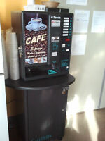 Coffee Vending Machine PLACED IN GOOD LOCATION