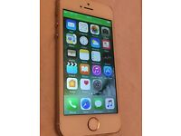 iPhone 5s gold 16GB white Ee t mobile orange virgin (8757)
