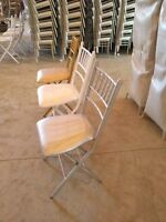 Beautiful, Modern, AFFORDABLE!!  Chiavari Chairs for Rent