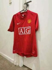 Manchester United 07/08Home kit Size S