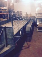 REMORQUE FLAT BED 14 X 6 PIEDS--FLAT BED TRAILER