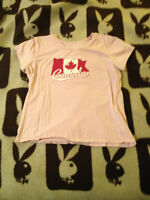 Old Navy Pink Canada Tee, Size XL