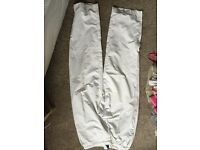 Nike tennis/sport trouser size medium white