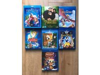 Disney Blu Ray collection x 8