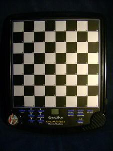 ExCalibur Kingmaster II Chess & Checkers