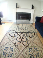 Glass Coffee Table & Side Table $75OBO