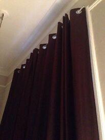 3m drop double width curtains