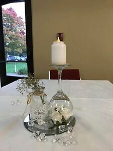 center pieces for small event. (7)