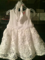 Embroidered girls dress with head wrap - new with tags