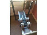 Maximuscle Weights Bench, with Weights