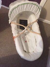 Mamas & Papas Moses basket New
