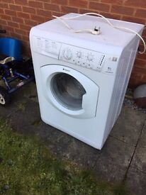 Hotpoint Aquarius faulty spins and dry won't wash