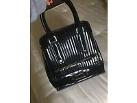 Black lacquered Ted Baker bag, very good condition - 50£