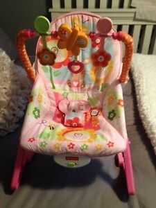 Fisher Price Infant to Toddler Rocker-Bunny