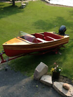 CLASSIC 2001 GIEZLER WOODEN BOAT