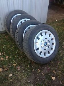 REDUCED!! Winter tires 205/60r/15 with 75% left Strathcona County Edmonton Area image 1