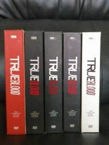 True Blood Seasons 1-5 on DVD