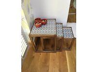 Orla Kiely stem nested table set