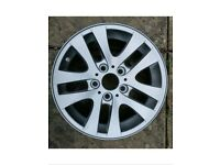 "Vauxhall vivaro Renault trafic Nissan primastar 16"" alloy wheels with fitting kit"