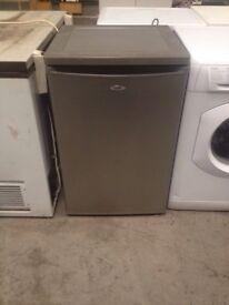 Silver under counter fridge cheap