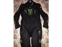 Alpinestars Monster one piece leather suit , boots included