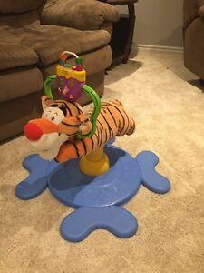 Tigger bouncy toy