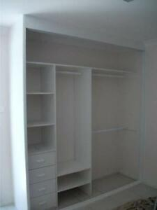 Built-In Wardrobe Interior Up to 2400 Wide *Supply Only* Warwick Farm Liverpool Area Preview