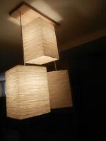 IKEA ceilling pendant lamps.