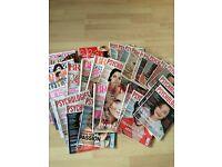 Selection of psychology magazines..