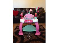 Bright starts Disney Minnie Mouse bounce and bloom activity centre