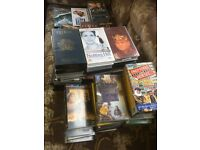 Assorted vhs films and comedy