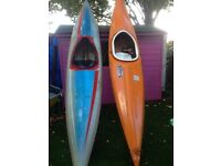 2 sea worthy canoes for sale