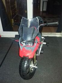 battery powered motor bike