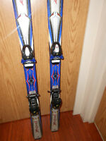 Rossignol 130cm skis with bindings