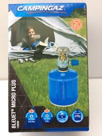 CAMPINGAZ BLEUET MICRO PLUS STOVE + CV300+ CARTRIDGE