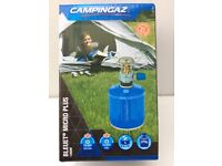 CAMPINGAZ BLEUET MICRO PLUS STOVE + CV300+ CARTRIDGE