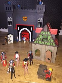 Various Play Mobil toys