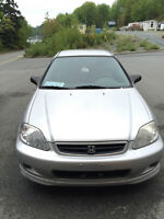 2000 Honda Civic DX Coupe (2 door)