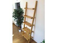 hand made ladder shelf:)