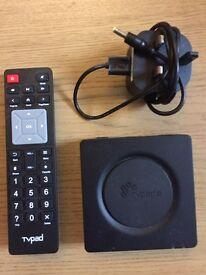 Tv pad media box streamer
