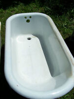 Large Cast Iron Bathtub