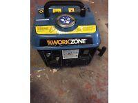 Work zone suitcase generator.