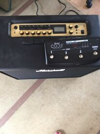 Marshall amp and foot controller