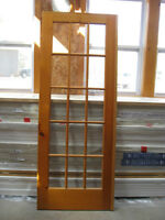 Knotty Pine SOLID French Doors (PERFECT Condition)