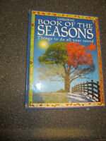 Harcover Usborne book of the seasons