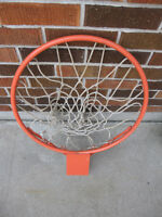 Outdoor Metal Basketball Rim and Net