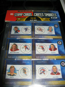2000 NHL All Star Game Canada Post Card/Stamp collection! Unopen