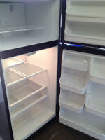 """BLACK FRIDGE 30"""" BY 66"""" LIKE NEW ONLY 6 MONTHS OLD!"""
