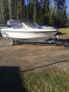 17.5 ft Larson with Evinrude 150